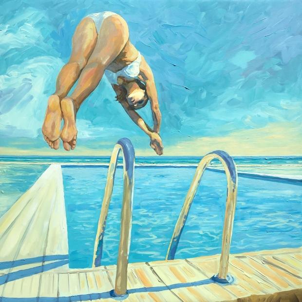 134 - Poolside Diver