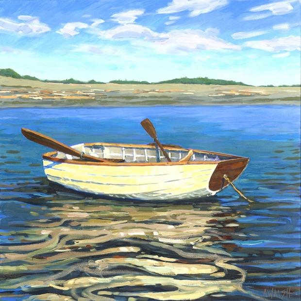 143 - Lone Rowboat