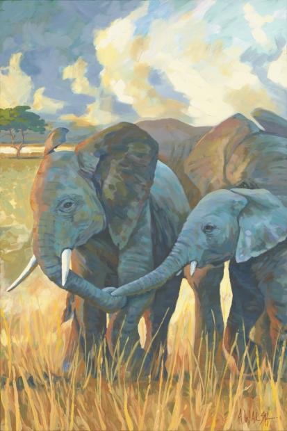 155 - Trio of Elephants